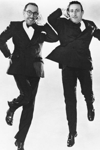 Preston and James as Morecambe and Wise - Outstanding
